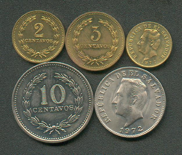 moneda salvadoreña
