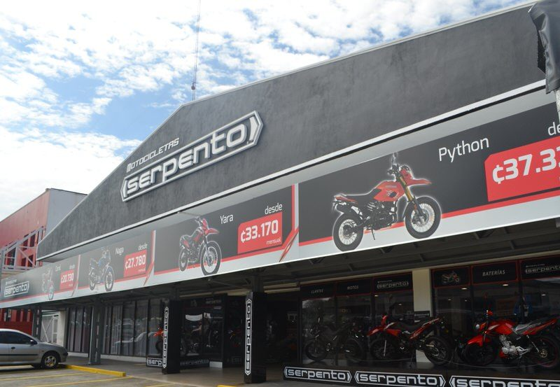 motos Serpento El Salvador