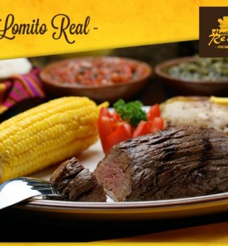 lomito real hacienda real menu